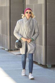 Naomi Watts Out In Greenwich Village