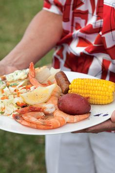 A shrimp boil is a classic all-American way to feed a crowd, and it's easy to prepare.