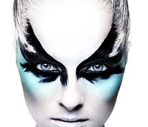 Inspiring picture beautiful, blue, design, facepaint, fashion. Resolution: 455x609 px. Find the picture to your taste!