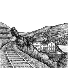 Finally I can show you some illustrations I did some months ago for Portgall a Travel Organization based on the north of Portugal. This one is about Douro. Hope you like it! #douro #douroriver #dourovalley #valley #landscape #wine #train #river #portugal #portugaldenorteasul #north #ink #drawing #draw #illustration #art #sketch #blackandwhite #bw #travel #portgall #helenamoraissoares #turismo #tourism #artoftheday #bestoftheday #picoftheday #instagood #instadaily by helenamoraissoares