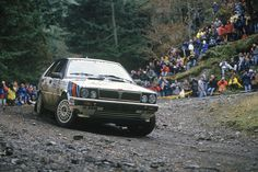 1987 Juha Kankkunen switches from Peugeot to Lancia and becomes the first back-to-back World Rally champion