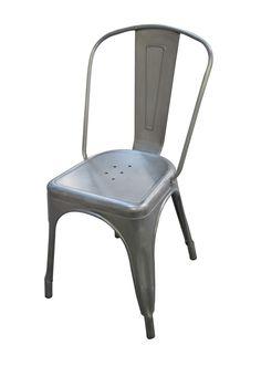 Walker Edison's Gunmetal Grey Cafe Chairs Delivered to Your Door! #walkeredison #furniture #outdoor  #entertaining
