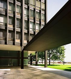 860-880 Lake Shore Drive Apartments, Chicago  by Ludwig Mies van der Rohe in 1948-51