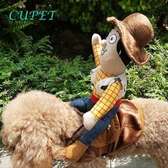 CUPET® Funny Pet Costume, Pet Supplies Cowboy Rider Horse Outfit Apparel Christmas Dress Up Decoration Prop Gift for Cat Dog Puppy - http://www.petsupplyliquidators.com/cupet-funny-pet-costume-pet-supplies-cowboy-rider-horse-outfit-apparel-christmas-dress-up-decoration-prop-gift-for-cat-dog-puppy/