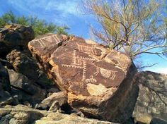 Petroglifos de Caborca Son. Mx.