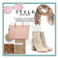 """""""Untitled #160"""" by fashion-style-tv ❤ liked on Polyvore featuring Gianvito Rossi, Burberry and Material Girl"""