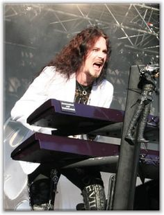 Tuomas Holopainen. Keyboards, songwriting. Nightwish. Finland.