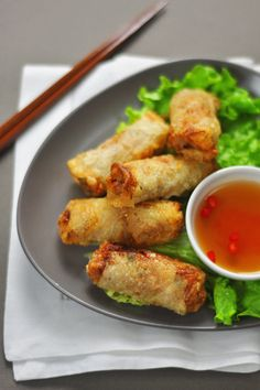 Vietnamese Spring Rolls  (Nem – Chả giò)