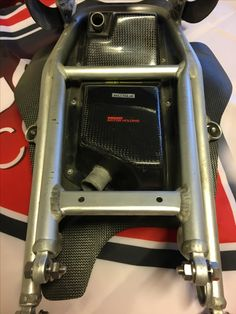 #Ducati Motorholding performance #MS-production breather # Alu rear frame former used in German Championship