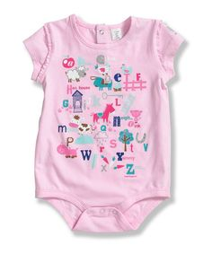 Look at this Carhartt Pink Ruffle Bodysuit - Infant on #zulily today!