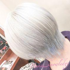 メニュー:ホワイト・トリプルカラー(18000) 所要時間:6h #Hanaカラー #ブリーチ #ホワイトブリーチ #派手髪 #ヘアカラー #haircolor #カラフル #colorfulhair #デザインカラー #designcolor #ヘアスタイル #hairstyle #ホワイト #ホワイトヘア #whitehair #ブリーチ1回 #ハイトーンカラー #スーパーハイトーン #hightonecolor White Blonde
