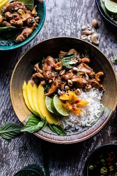 If there was ever a chicken dinner of my dreams, this would be it. The post 20 Minute Basil Cashew Chicken. appeared first on Half Baked Harvest.