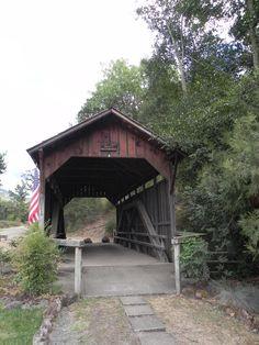 Lost Creek Covered Bridge - Oregon