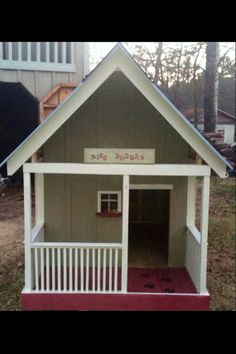 1000 images about luxury dog homes on pinterest luxury dog house dog houses and outdoor dog - Luxury outdoor dog houses ...