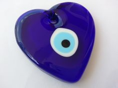Your place to buy and sell all things handmade Mystic Eye, Turkish Eye, Greek Evil Eye, Heart Wall, Hamsa, Fused Glass, Interior Decorating, Eyes, Unique Jewelry