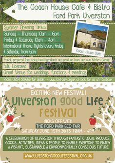 Cumbria Culture Magazine Ford Park and Good Life Festival
