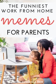 Funny work from home memes for parents that will make you laugh so hard you forget that everything, including working from home with kids, is impossible right now. Funny Parenting Memes, Kid Memes, Funny Memes, Jokes, Memes Humor, Hilarious, Top Funny, Funny Love, Really Funny