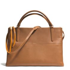 Want this for all my papers and books for school, the dividers would keep them all separate and organized. The The Large Borough Bag In Edgepaint Leather from Coach