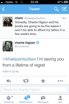 I mentioned Charlie Higson in a tweet and this happened... I'm in awe! Charlie Higson, Funny Tumblr Posts, Destiel, Screenwriting, Stand By Me, Teenager Posts, Wonders Of The World, Save Yourself, Supernatural