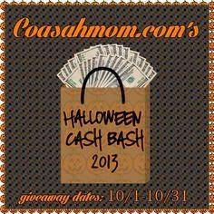 ( #Free# #Blogger #Opp) 2013 #Halloween Cash Bash  #marketing #seo #microjobs