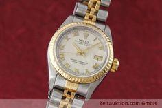gebrauchte Luxusuhr Rolex Lady Datejust Stahl / Gold Automatik Kal. 2135 Ref. 69173 | 152640 04