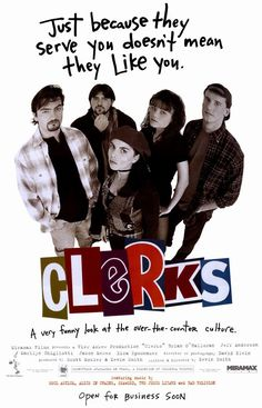 CAST: Brian O'Halloran, Jeff Anderson, Marilyn Ghigliotti, Lisa Spoonhauer, Jason Mewes; CAMEO(S): Kevin Smith; DIRECTED BY: Kevin Smith; WRITTEN BY: Kevin Smith; CINEMATOGRAPHY BY: David Klein; MUSIC