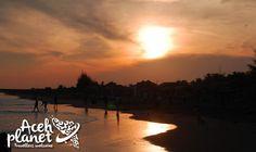 Aceh Planet – Sunset Pantai Manohara