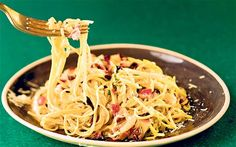 Use this fennel, pancetta and rosemary sauce with fine pasta such as angel hair