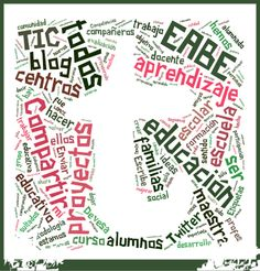 "Con ""t"" de Twitter, así he titulado mi nube de intereses realizada a partir de mi blog. Creo que las palabras me definen bastante. Ah, soy Mª Carmen Devesa (@mcarmendz) #minubedeintereses y #eduPLEmooc"
