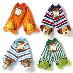 NEW Animal Footsie Rattle Socks - Various Animal Styles  www.TheConsignmentBag.com We ship Worldwide!