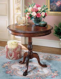 Butler Specialty Plantation Cherry Round Pedestal Table - 0533024