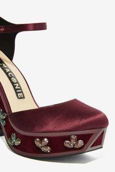 Nasty Gal x Kat Maconie Nancy Satin Platform | Shop Shoes at Nasty Gal!
