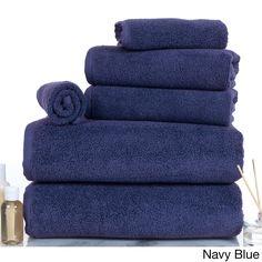 Trademark Windsor Home 100-percent Egyptian Zero Twist 6-piece Set Towels