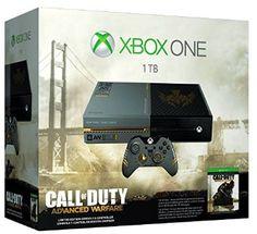 Xbox One Limited Edition -- Call Of Duty: Advanced Warfare  $500 +FREE shipping (11/3 release) on Amazon @ http://www.amazon.com/gp/product/B00MMTKXTA/ref=as_li_qf_sp_asin_il_tl?ie=UTF8&camp=1789&creative=9325&creativeASIN=B00MMTKXTA&linkCode=as2&tag=urnetsto-20&linkId=3AY7LFAG3BDLBWQB