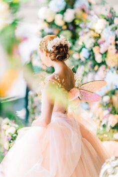 Fairy Enchanted Garden Themed Wedding Inspiration   Amie Bone Flowers   London Weddings   Watercolor Floral Themed Weddings