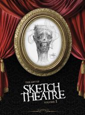 The Art of Sketch Theatre Vol 1 from Baby Tattoo Books. Sketches, finished work and profiles of over 50 artists participating in the SketchTheatre.com ongoing project.