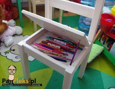 Blog dla majsterkowiczów - Pan Fleks: Jak zrobić proste krzesło do pokoju dziecka?