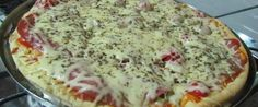 Foto - Receita de Como Fazer:Massa de Pizza!