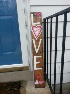 A new Valentines Board I did!