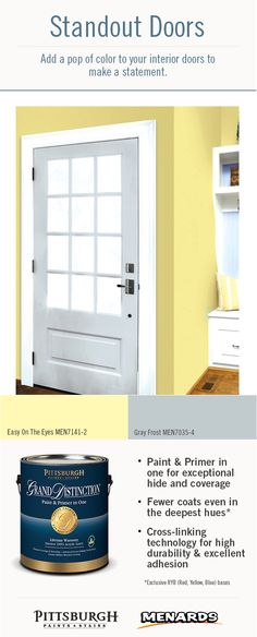 1000 Images About Standout Interior Door Paint Colors On Pinterest Pittsburgh Paint Color