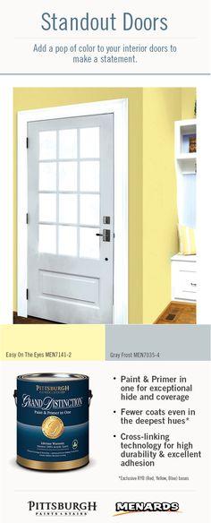 1000 Images About Standout Interior Door Paint Colors On Pinterest Pittsburgh Paint Color