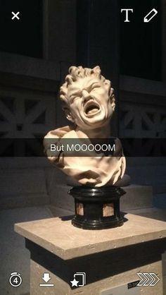 #funny #funnysnapchat #statue