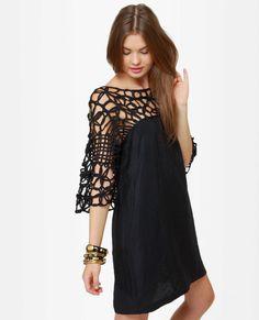 Motown Black Dress  $38 white too