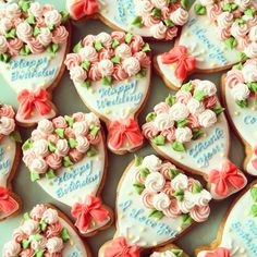 bouquet cookies More