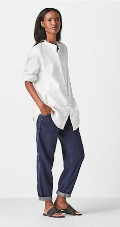 Our favorite january looks & styles for women eileen fisher eileen fish Over 50 Womens Fashion, Fashion Over 50, Look Fashion, Urban Fashion, Fashion Outfits, Fashion Trends, Autumn Fashion, Buster Keaton, Quoi Porter