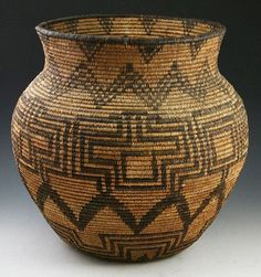 Apache coiled olla, c. 1920s