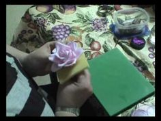 Gumpaste Rose Tutorial, Part 2, via YouTube....great tutorial for a really large rose