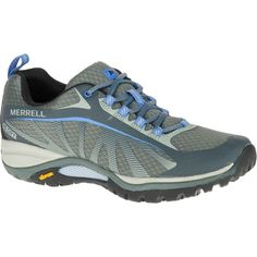 Merrell Women's Siren Edge Waterproof Monument Hiking Boots & Shoes ($110)  ❤ liked on