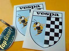 Other Motorcycle Decals, Stickers & Emblems Motorcycle Stickers, Wasp, Porsche Logo, Ebay, Vespas