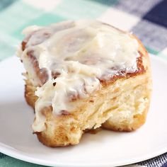 The BEST cinnamon rolls in the WORLD. Big, fluffy, soft and absolutely delicious. You'll never go back to any other recipe once you try this one! Best Cinnamon Rolls, Other Recipes, French Toast, Eat, Breakfast, Desserts, Food, Baking Cookies, Tailgate Desserts